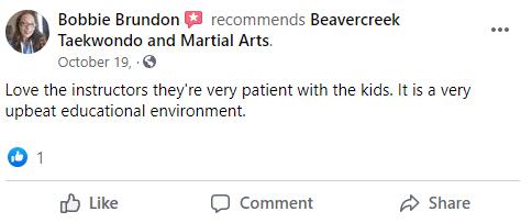 Kids3, Beavercreek Taekwondo and Martial Arts
